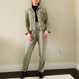 Vintage Matching Two Pieces Suit